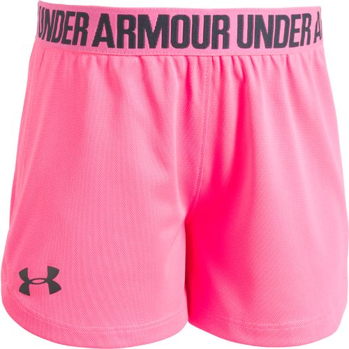 Under Armour Girls' Solid Play Up Short