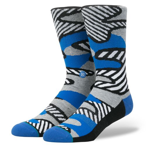 Stance Men's Parsons Striped Camo Socks