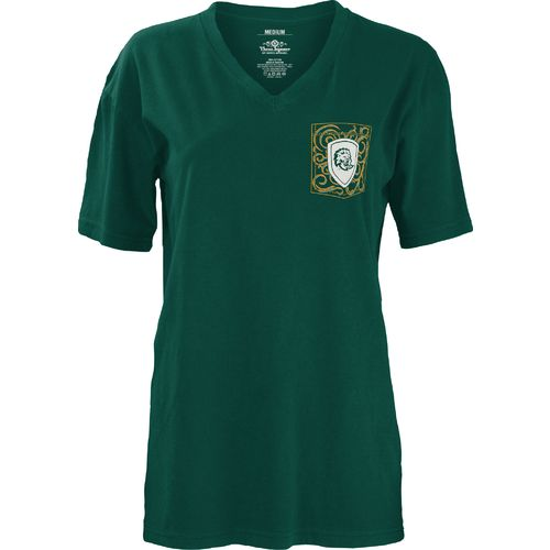Three Squared Juniors' Southeastern Louisiana University Anchor Flourish V-neck T-shirt - view number 2
