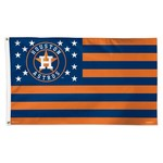 WinCraft Houston Astros Stars and Stripes 3 ft x 5 ft Deluxe Flag - view number 1