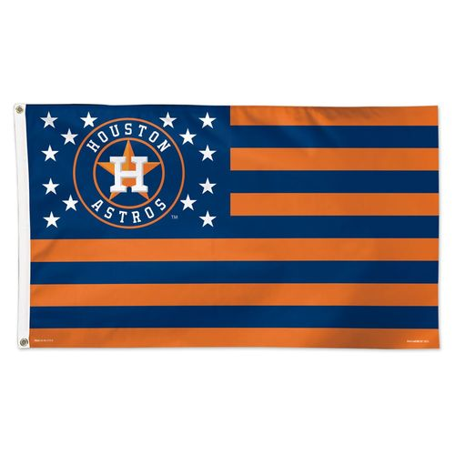 WinCraft Houston Astros Stars and Stripes 3 ft x 5 ft Deluxe Flag