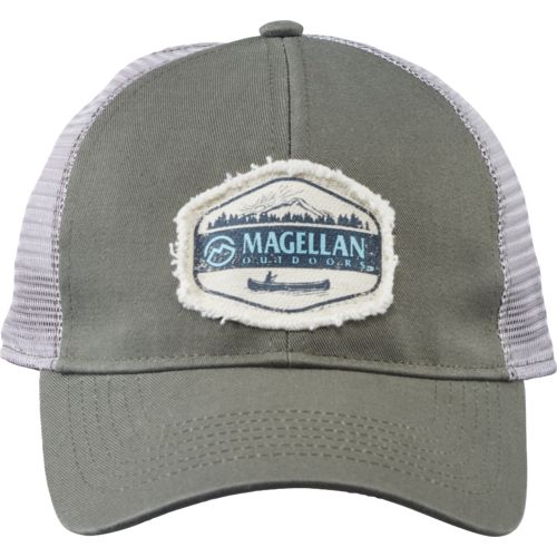 Display product reviews for Magellan Outdoors Men's Take Me to the Lake Trucker Cap