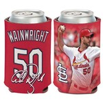 WinCraft St. Louis Cardinals Adam Wainwright 12 oz Can Cooler - view number 1