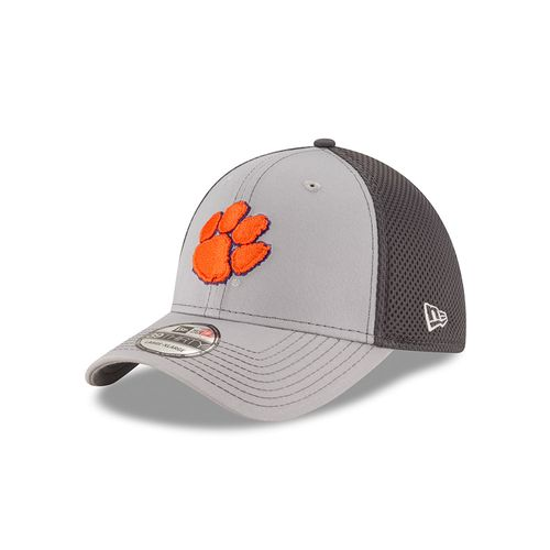New Era Men's Clemson University Grayed Out Neo 39THIRTY Cap - view number 1