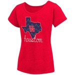 Colosseum Athletics™ Girls' University of Houston Tissue 2017 T-shirt - view number 1