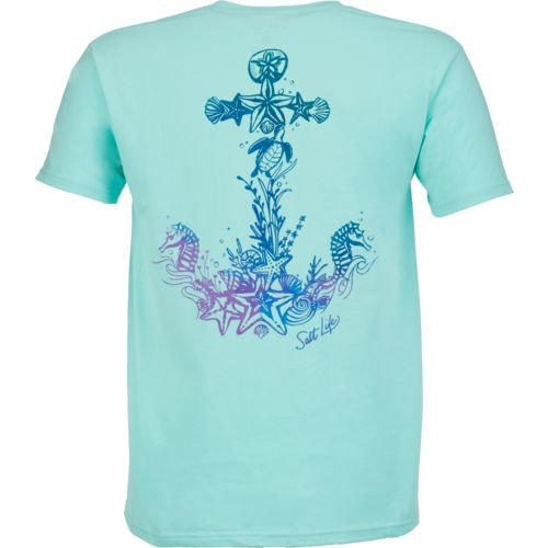 Display product reviews for Salt Life Women's Anchored to the Sea Short Sleeve T-shirt