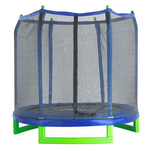Upper Bounce 7 ft Round Indoor/Outdoor Trampoline with Enclosure - view number 1
