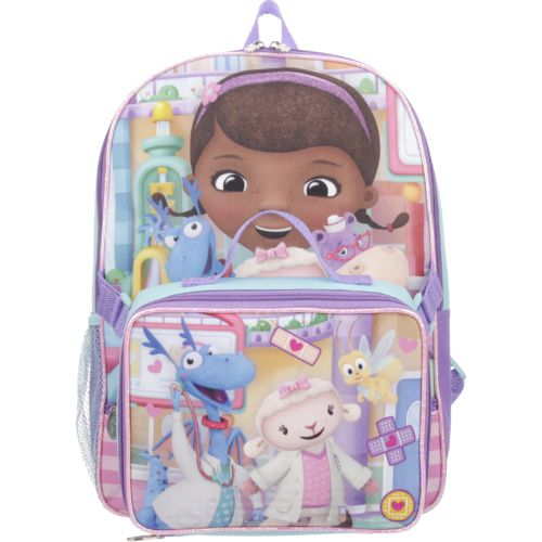Disney™ Girls' Doc McStuffins Backpack with Lunch Kit