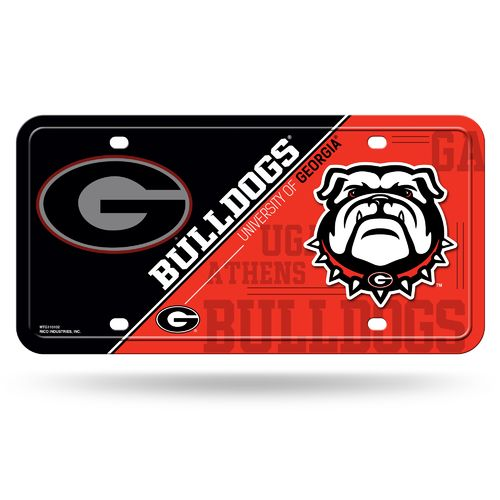Display product reviews for Rico University of Georgia Metal Auto Tag