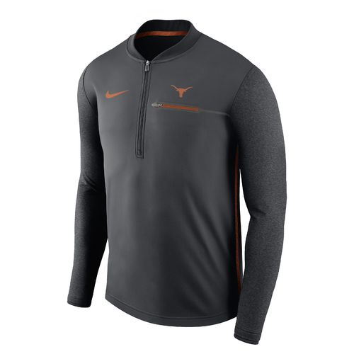 Nike Men's University of Texas Coaches 1/4 Zip Pullover