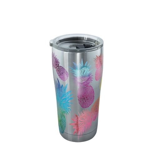 Tervis Watercolor Pineapples 20 oz Stainless Steel Tumbler