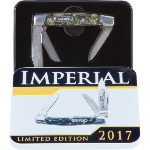 Imperial Stockman 3-Blade Pocket Knife with Collector's Tin