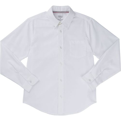 French Toast Boys' Long Sleeve Oxford Uniform Shirt