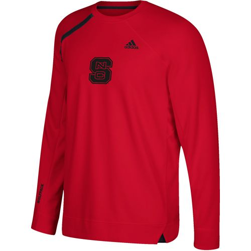 adidas Men's North Carolina State University Shooting Long Sleeve Basketball T-shirt