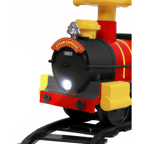 RollPlay 6V Kids' Ride Along Motorized Steam Train Ride-On - view number 2