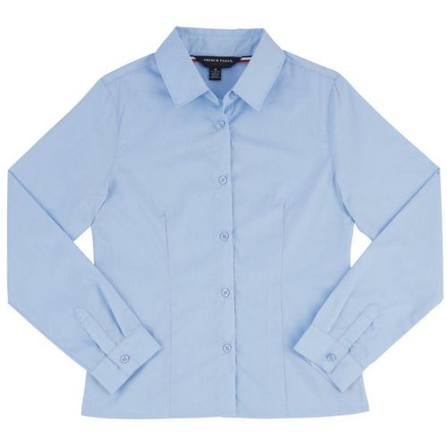 French Toast Girls' Long Sleeve Pointed Collar Uniform Blouse - view number 1