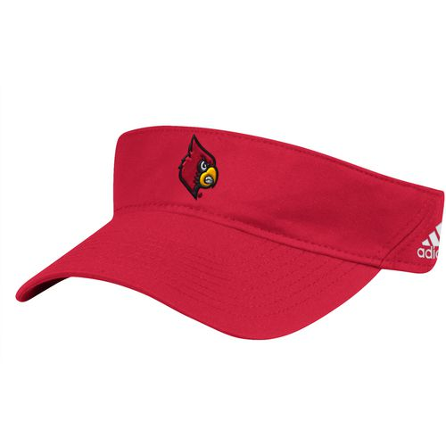 adidas Men's University of Louisville Coach Adjustable Visor