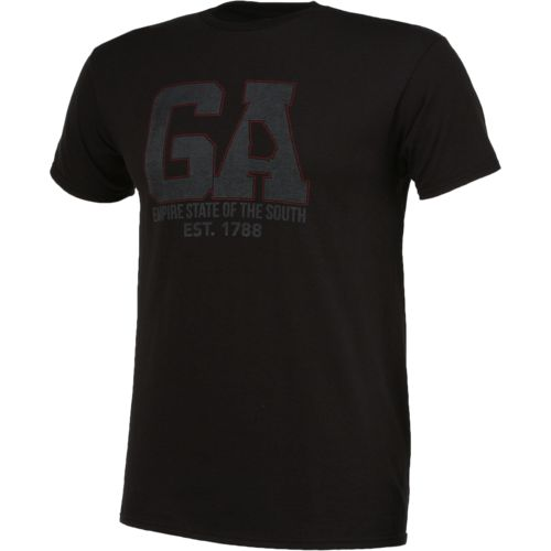State Love Men's Georgia Empire State of the South Short Sleeve T-shirt - view number 3