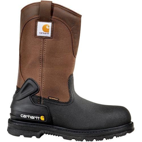 Carhartt Men's 11 in Insulated Safety Toe Wellington Work Boots - view number 1