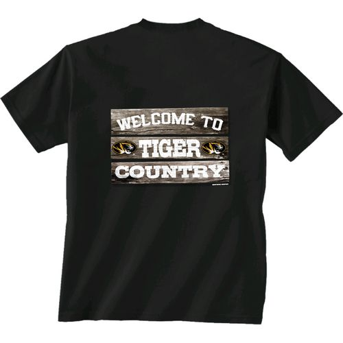 New World Graphics Men's University of Missouri Welcome Sign T-shirt