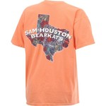 New World Graphics Women's Sam Houston State University Comfort Color Puff Arch T-shirt - view number 2