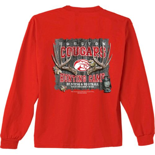New World Graphics Men's University of Houston Hunt Long Sleeve T-shirt