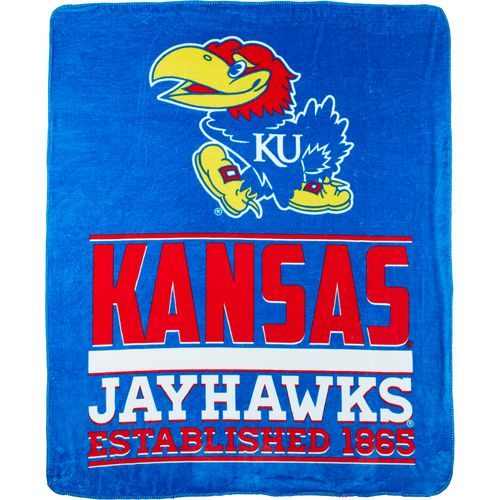 The Northwest Company University of Kansas 60 in x 70 in Cloud Throw Blanket - view number 1