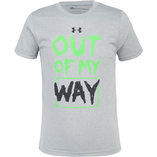 Under Armour Boys' Out of My Way Short Sleeve T-shirt