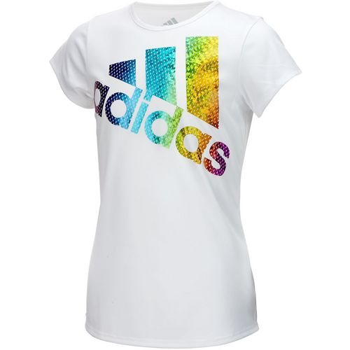 adidas Girls' climalite Colors Ignite T-shirt