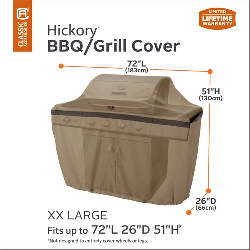 Classic Accessories Hickory Barbecue Grill Cover - view number 9