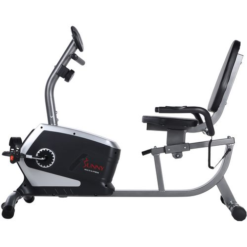 Sunny Health & Fitness Easy Adjustable Seat Recumbent Bike - view number 13