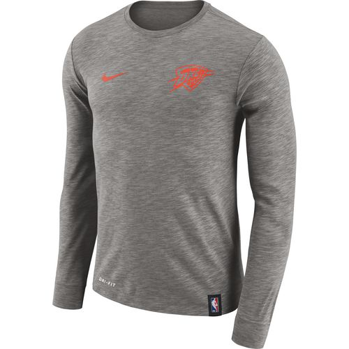 Nike Men's Oklahoma City Thunder Facility Long Sleeve T-shirt