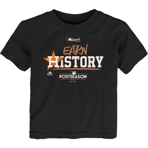 Majestic Toddler Astros Division Clinch Earn History Locker Room T-Shirt