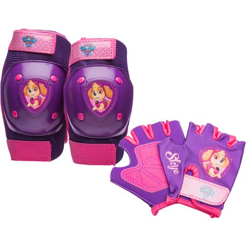 PAW Patrol Kids' Skye Cycling Pad and Glove Set