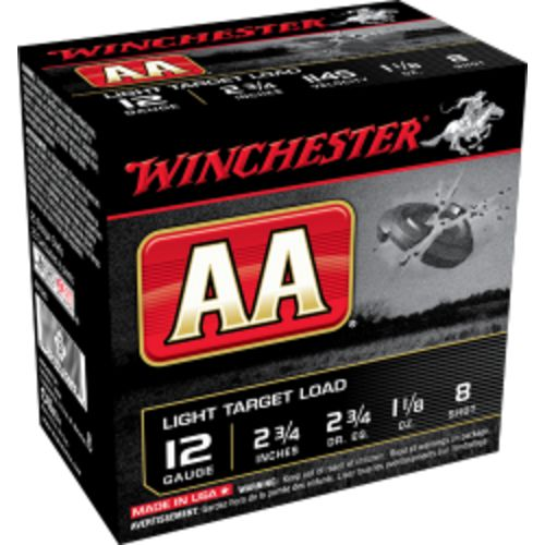 Display product reviews for Winchester AA Light Target Load 12 Gauge 8 Shotshells
