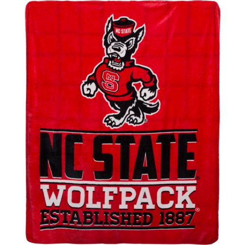 The Northwest Company North Carolina State University 60 in x 70 in Cloud Throw Blanket