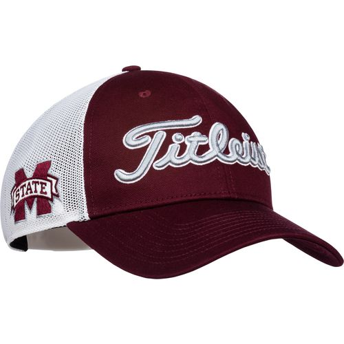 Titleist Men's Mississippi State University Twill Mesh Cap