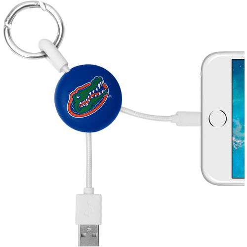 Mizco University of Florida Lightening Phone Charger Keychain Cable