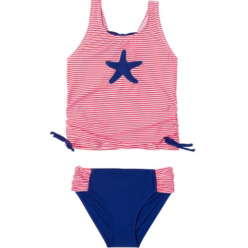 O'Rageous Girls' Sailor Stripe 2-Piece Tankini - view number 1