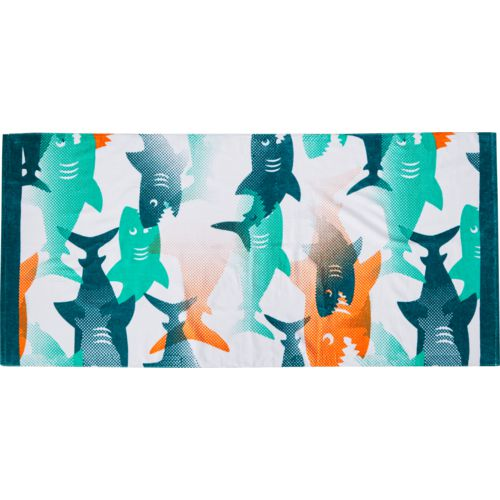O'Rageous Kids' Feeding Frenzy Beach Towel