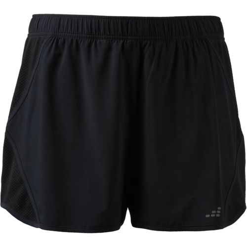 BCG Women's Side Mesh Panel Plus Size Shorts