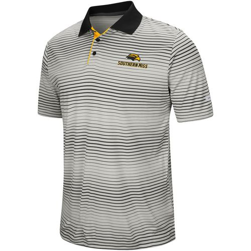 Colosseum Athletics Men's University of Southern Mississippi Lesson Number One Polo Shirt