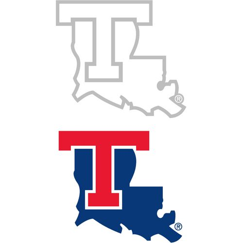 Stockdale Louisiana Tech University 4' x 7' Decals 2-Pack